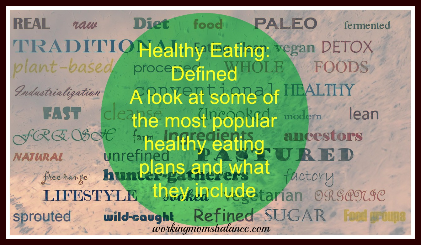 Approaches to Healthy Eating – Defined