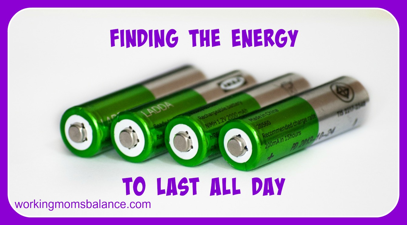 Finding the Energy to Last All Day