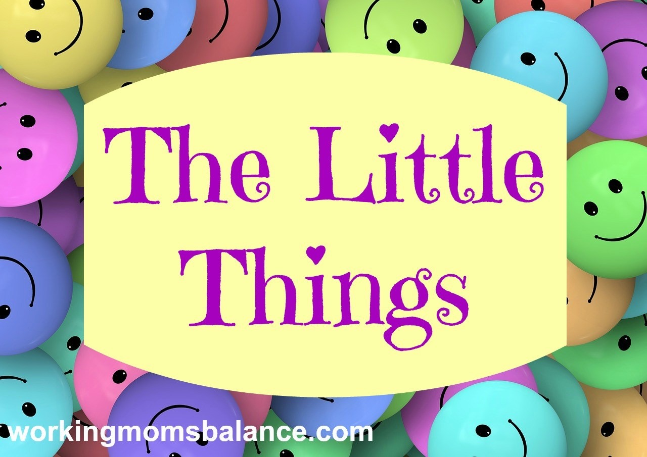 The Little Things – August 2016