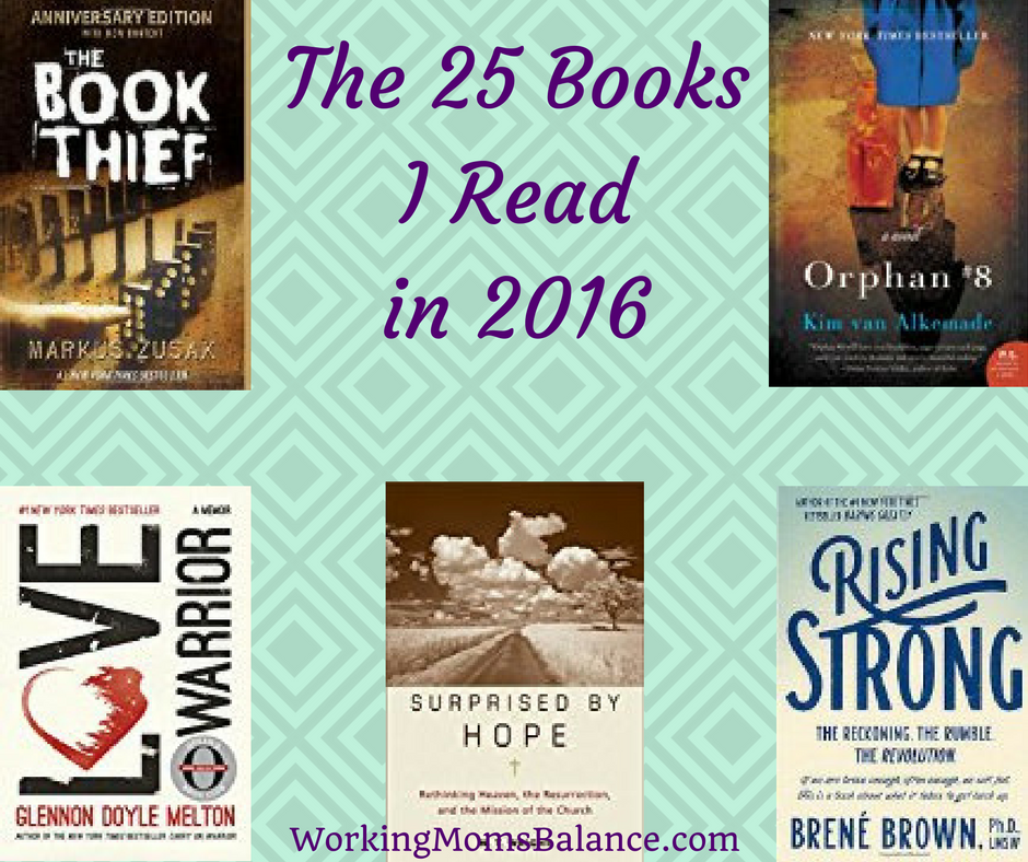 All the Books I Read in 2016