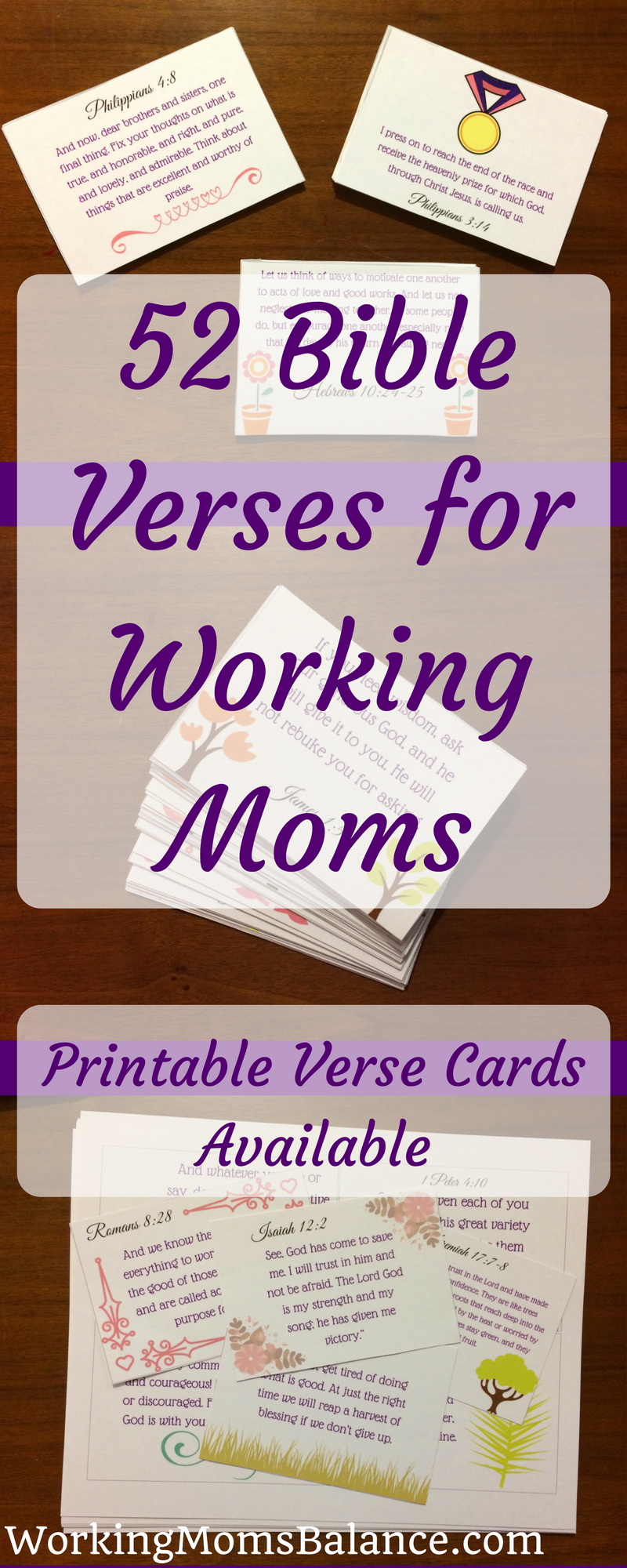 52 Bible Verses for Working Moms - Working Mom's Balance